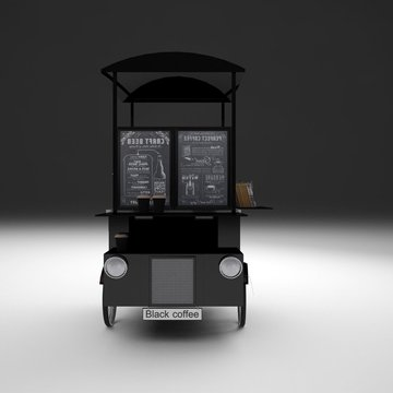 Black Cab Coffee Rickshaw