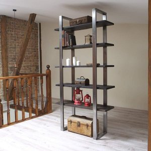 Industrial Freestanding Shelving Unit