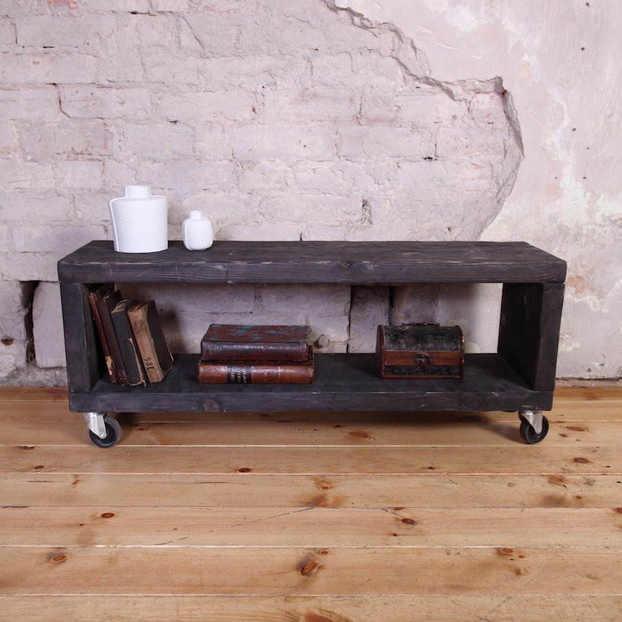 industrial tv unit  tv stand  cosywoodcouk - industrial tv unit  tv stand