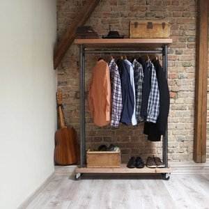 Industrial Clothes Rail