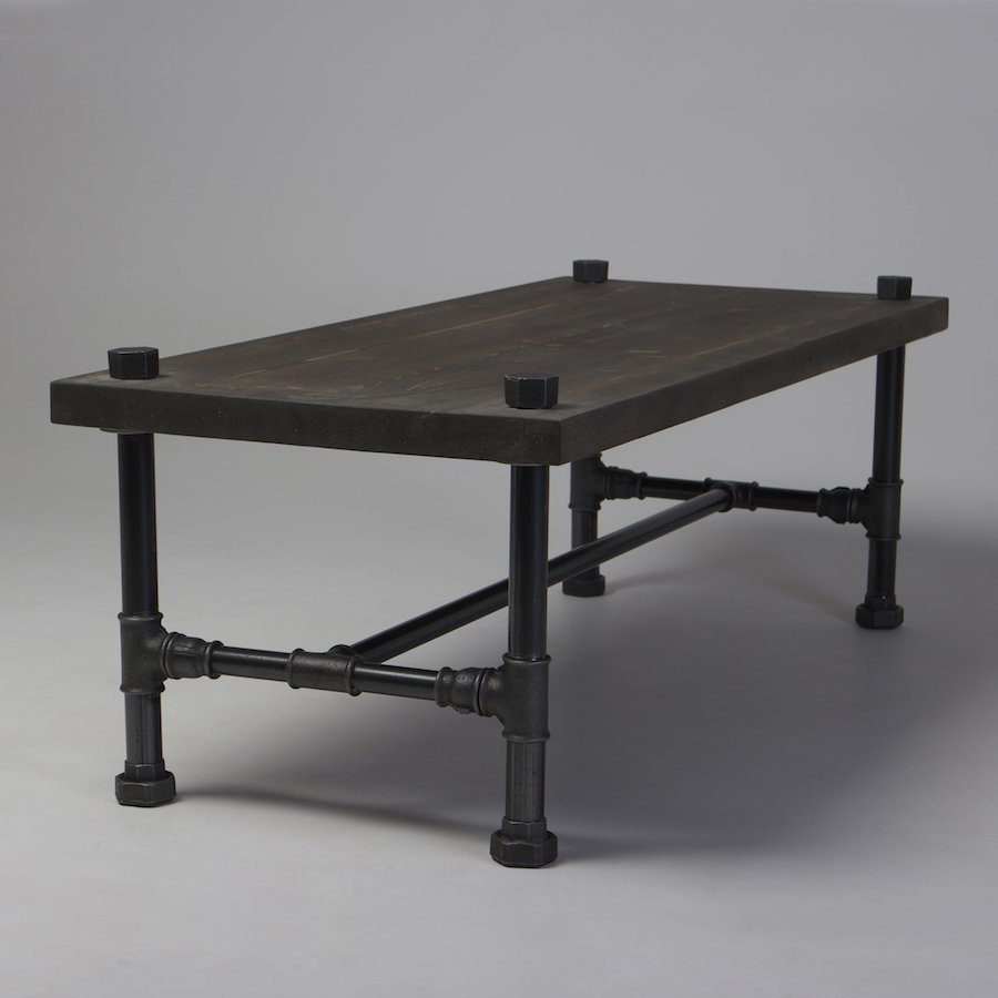 Industrial Looking Coffee Tables Classic Industrial Style Coffee Table Cosywoodcouk