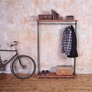 Rustic Industrial Clothes Rail/Rack
