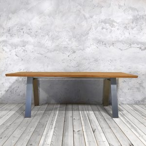A Shaped Legs Dining Table