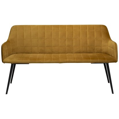 Embrace Bench Bronze Velvet