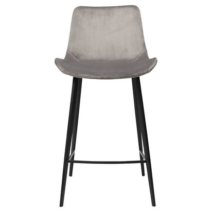 Hype Counter Stool Alu Velvet