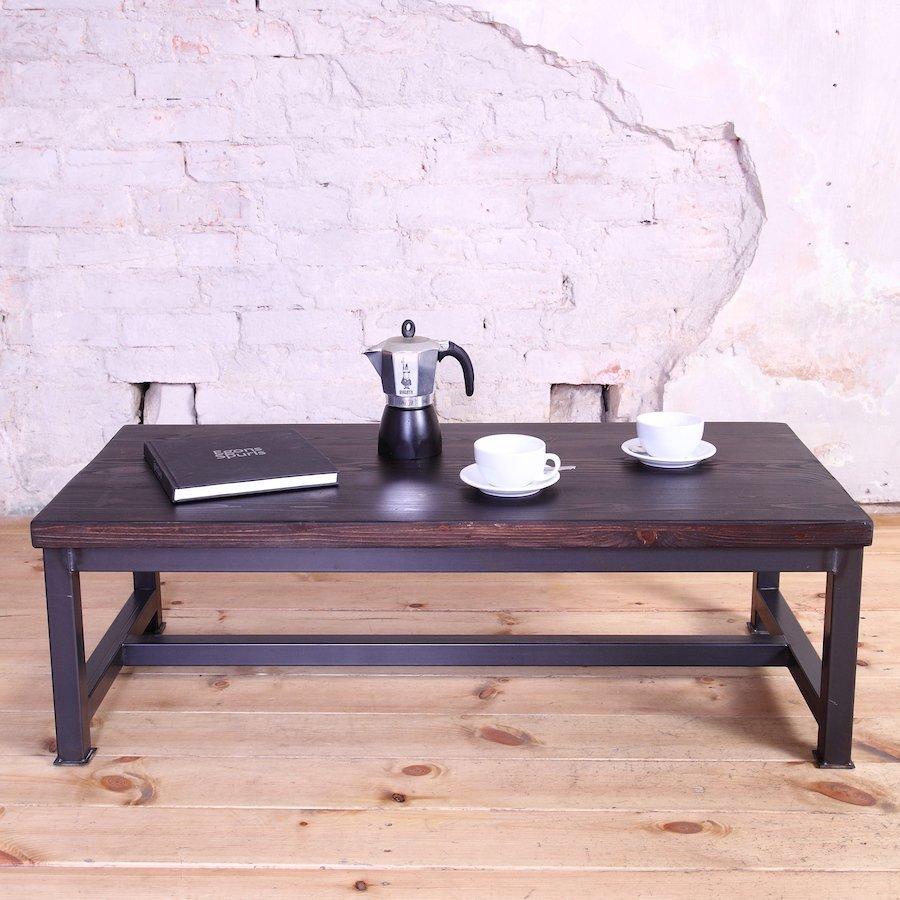 Industrial Storage Coffee Table Review: Sleek Steel Industrial Style Coffee Table