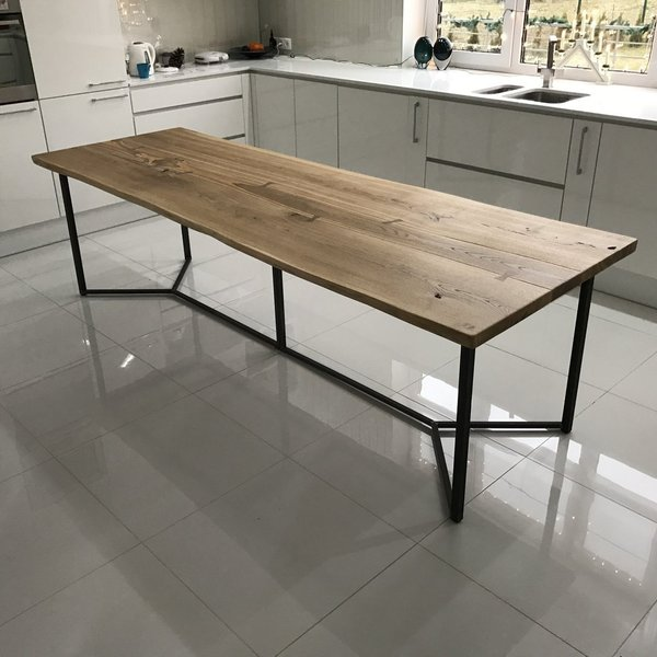 Live Edge Dining Table for Sale UK | Cosywood