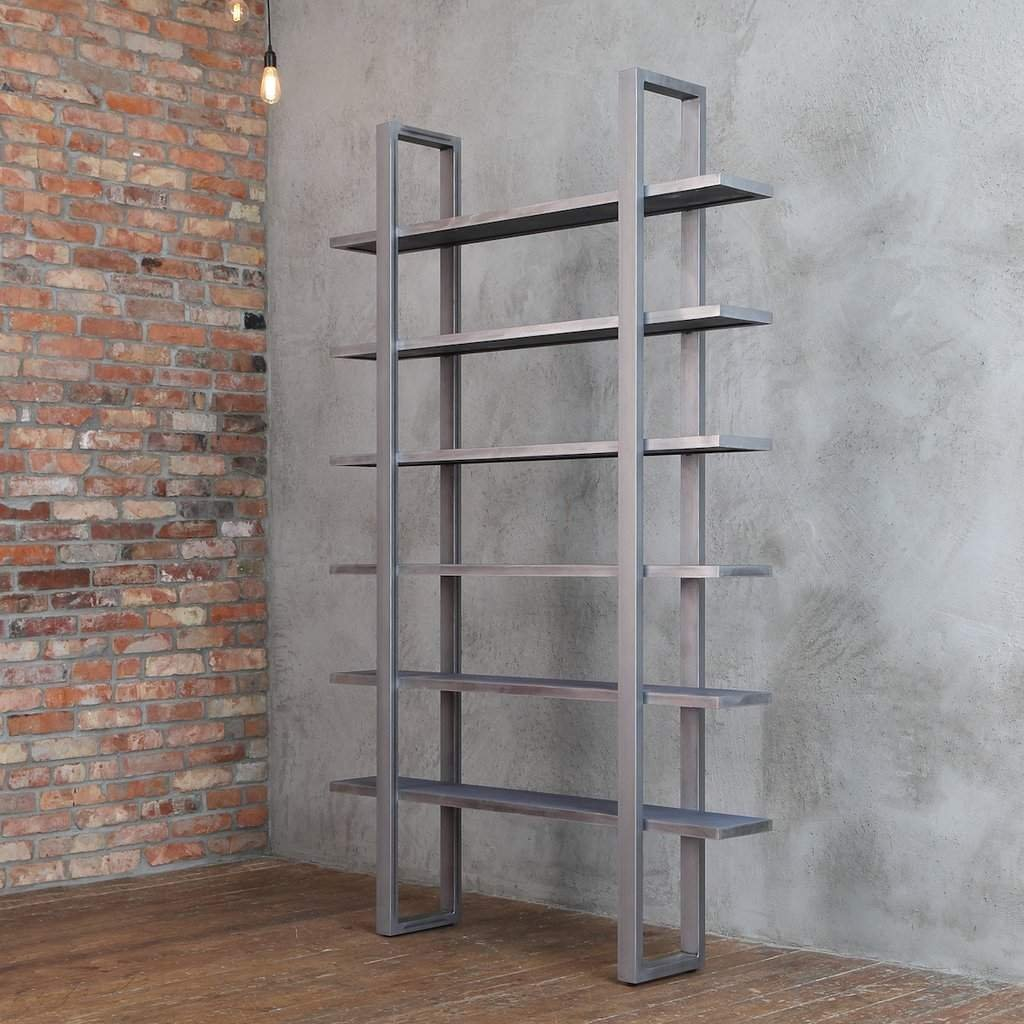 Industrial Style Solid Wood Shelving Unit Cosywood