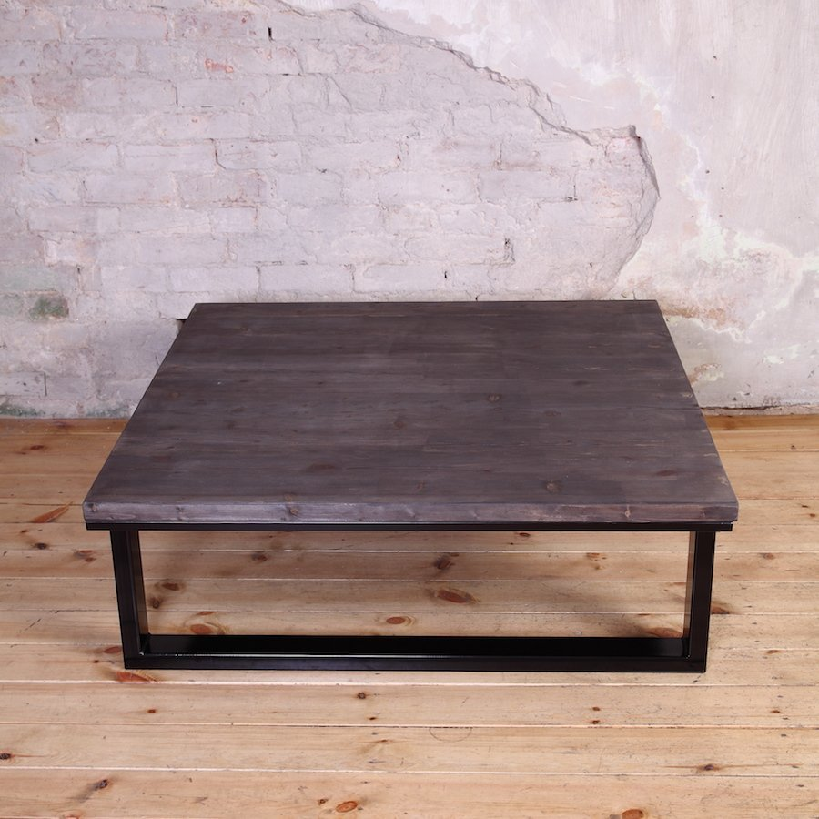Industrial Coffee Table London: Modern Industrial Style Coffee Table
