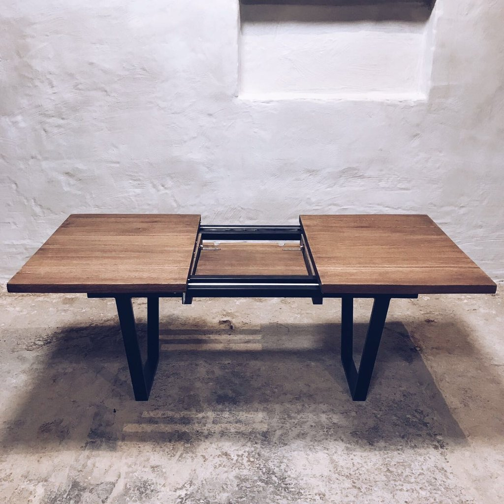 Coffee Table Extendable Legs: Industrial Extendable Dining Table