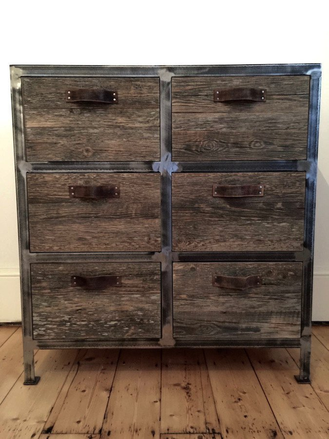 drawer chest collections of and grande iron vincent barn unit drawers industrial