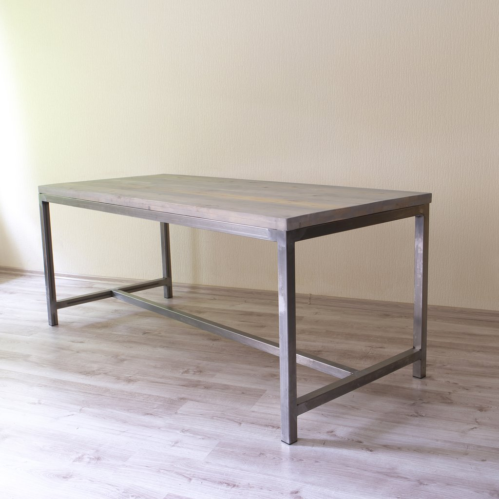 dining table articul sleek steel industrial dining table sleek