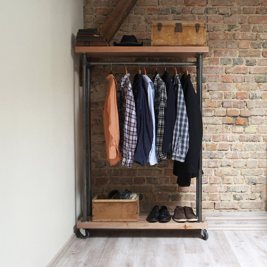 Industrial Clothes Rail Cosywood Co Uk