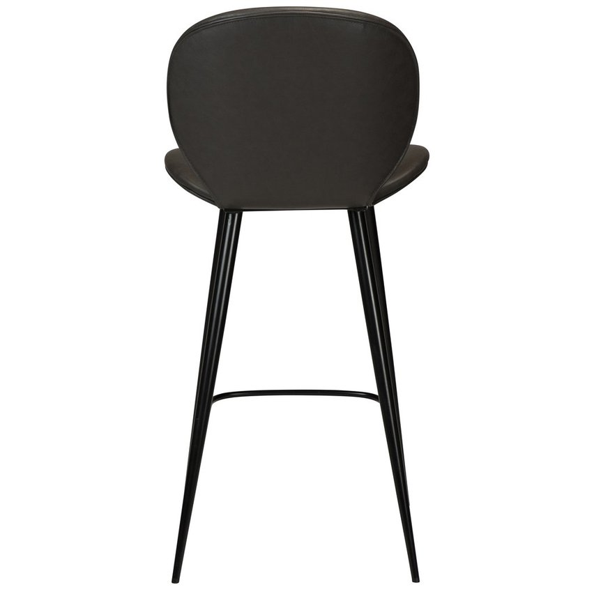 Cloud Counter Stool Grey Leather